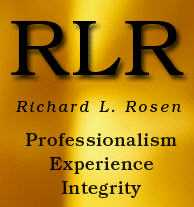 The <br />Richard L. Rosen Law Firm PLLC Law Firm Logo