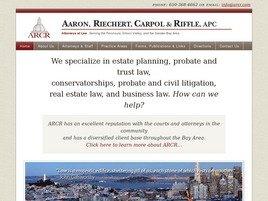 Firm Logo for Aaron Riechert Carpol Riffle APC