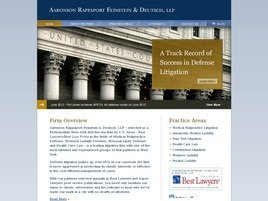 Aaronson Rappaport Feinstein <br />& Deutsch, LLP Law Firm Logo