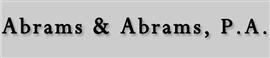 Firm Logo for Abrams Abrams P.A.