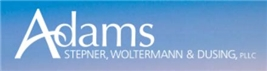 Firm Logo for Adams Stepner Woltermann Dusing PLLC