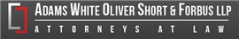 Firm Logo for Adams White Oliver <br />Short & Forbus, LLP