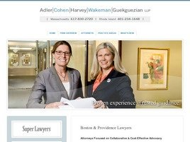 Firm Logo for Adler Cohen Harvey Wakeman Guekguezian LLP