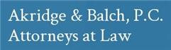 Akridge & Balch, P.C. Law Firm Logo