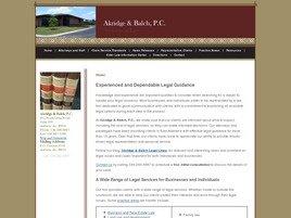 Firm Logo for Akridge Balch P.C.