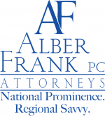 Alber Frank, PC Law Firm Logo