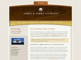 Firm Logo for Albert and Albert Law