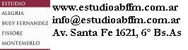 Estudio Alegria, Buey Fern�ndez, Fissore & Montemerlo