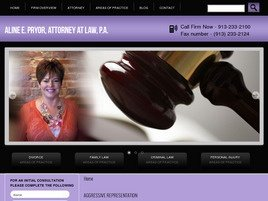 Firm Logo for Aline E. Pryor Attorney at Law P.A.