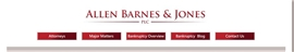 Allen Barnes & Jones, PLC Law Firm Logo
