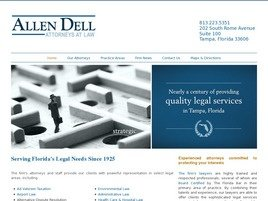 Allen Dell, P.A. Law Firm Logo
