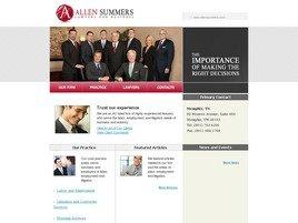 Allen, Summers, Simpson, Lillie <br />& Gresham, PLLC Law Firm Logo