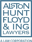 Firm Logo for Alston Hunt Floyd & Ing <br />Attorneys At Law <br />A Law Corporation