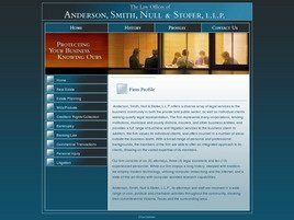 Firm Logo for Anderson, Smith, Null & Stofer, L.L.P.