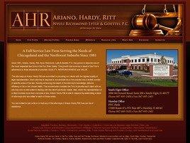 Firm Logo for Ariano Hardy Ritt Nyuli Richmond Lytle Goettel P.C.
