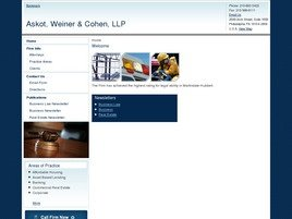 Askot, Weiner & Cohen, LLP Law Firm Logo