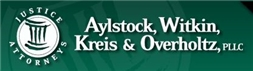 Firm Logo for Aylstock, Witkin, <br />Kreis & Overholtz PLLC