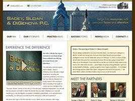 Firm Logo for Badey Sloan DiGenova P.C.