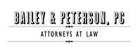 Bailey & Peterson, P.C. Law Firm Logo