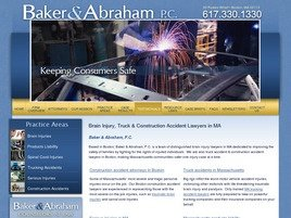 Baker & Abraham, P.C. Law Firm Logo