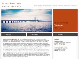 Firm Logo for Baker Williams Matthiesen LLP