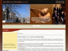 Banks,Stubbs & McFarland LLP Law Firm Logo