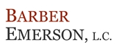 Barber Emerson, L.C. Law Firm Logo