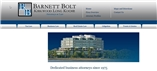 Barnett, Bolt, Kirkwood, Long & Koche, P.A. Law Firm Logo