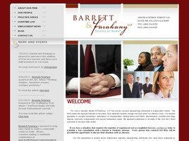 Barrett & Farahany LLP Law Firm Logo