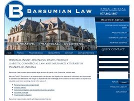 Firm Logo for Barsumian Law