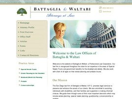 Firm Logo for Battaglia Waltari