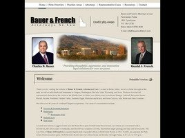 Bauer & French, Attorneys at Law