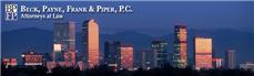 Firm Logo for Beck Payne Frank Piper P.C.