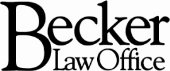 Becker Law Office PLC Law Firm Logo