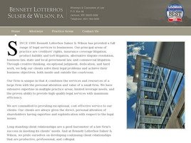 Firm Logo for Bennett Lotterhos Sulser Wilson P.A.