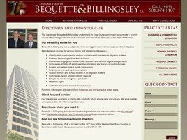 Firm Logo for Bequette Billingsley P.A.