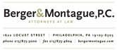 Berger & Montague, P.C. Law Firm Logo