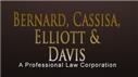 Bernard, Cassisa, Elliott & Davis<br />A Professional Law Corporation Law Firm Logo