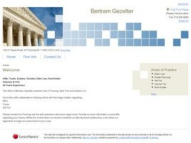 Firm Logo for Bertram Gezelter