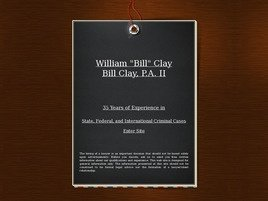 Firm Logo for Bill Clay P.A. II