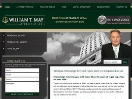 William T. May Attorney at Law Law Firm Logo