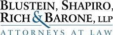 Blustein, Shapiro, <br />Rich & Barone, LLP Law Firm Logo