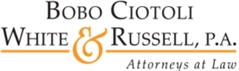 Bobo Ciotoli White & Russell, P.A. Law Firm Logo