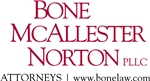 Bone McAllester Norton PLLC Law Firm Logo