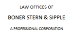 Firm Logo for Boner Stern Sipple A Professional Corporation