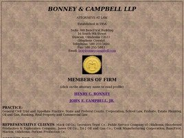 Firm Logo for Bonney Campbell LLP