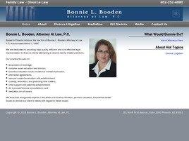 Bonnie L. Booden, <br />Attorney at Law, P.C. Law Firm Logo
