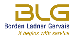 Borden Ladner Gervais LLP Law Firm Logo