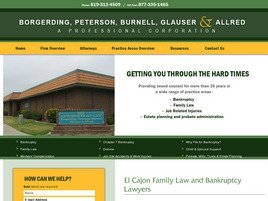 Firm Logo for Law Offices of Peterson Burnell Glauser Allred A Professional Corporation