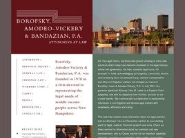 Firm Logo for Borofsky Amodeo-Vickery Bandazian P.A.